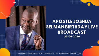 The Principles of Trans-Generational Impact by Apostle Joshua Selman Birthday Live Broadcast