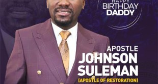 Ema Onyx Celebrates Apostle Johnson Suleman On His Birthday With A New Song