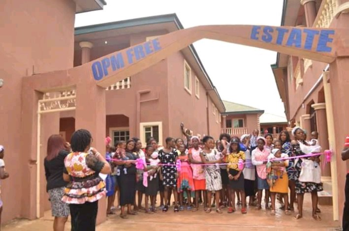 Apostle Chibuzor Gift Chinyere and OPM builds estate for repentant sex workers and lot more