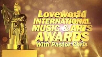 #LIMA2019: Winners at the Loveworld International Music & Arts Award with Pastor Chris