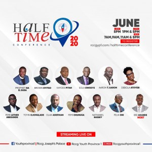 Half Time Conference 2020 Kicks Off On June 26th – 28th