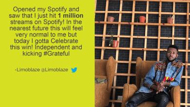 Limoblaze celebrate milestone of 1 million stream on Spotify