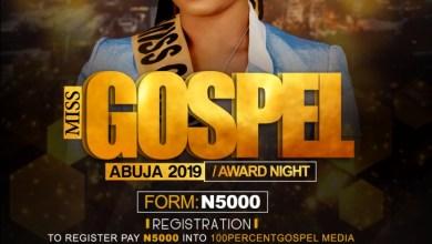 Miss Gospel Abuja 2019/Award Night