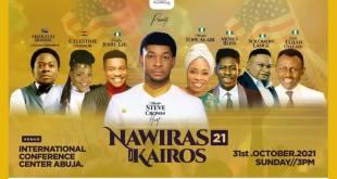 "Minister Steve Crown, Pastor Jerry Eze, Celestine Donkor, Tope Alabi & Others For ""NAWIRAS KAIRO 2021"""