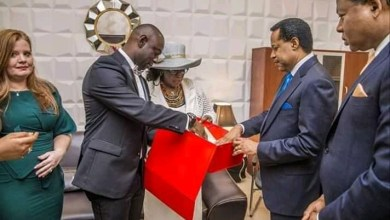 Pastor Chris Oyakhilome Gifted Bible Used by Archbishop Benson Idahosa 22 Years After His Death