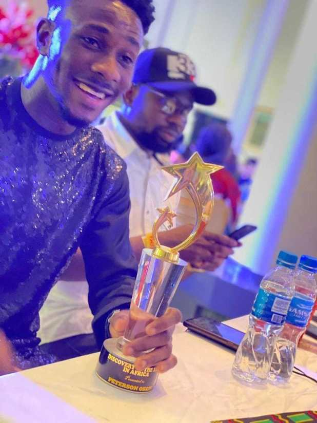 Peterson Okopi Emerges As The Discovery Of The Year 2021 Gospel Artist In Africa - CLIMA Awards