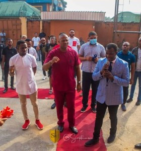 A Tour Of Preye Odede's New Script Music Studio Facility