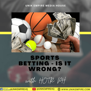 Sports Betting - Is It Wrong?