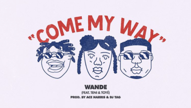 Come My Way by Wande, Teni and Toyé mp3 download off the Reach Records Summer 2020 Playlist