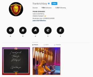 Frank Edward Deletes All Instagram Posts