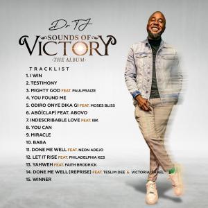 US Based Medical Doctor and Recording Artiste Dr Tj unveils Tracklist for Debut Album 'Sounds of Victory'