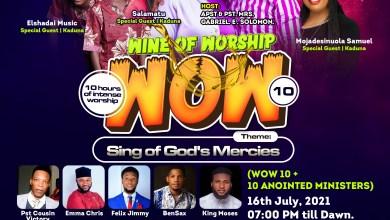 Wine Of Worship 10 (WOW 10+10)