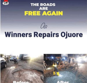 oyedepo approves 650 million Naira for road construction in Ogun state