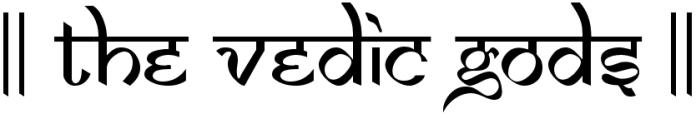 The Vedic Gods