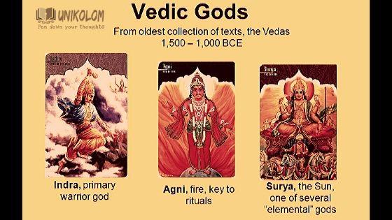 vedic gods Rig Veda