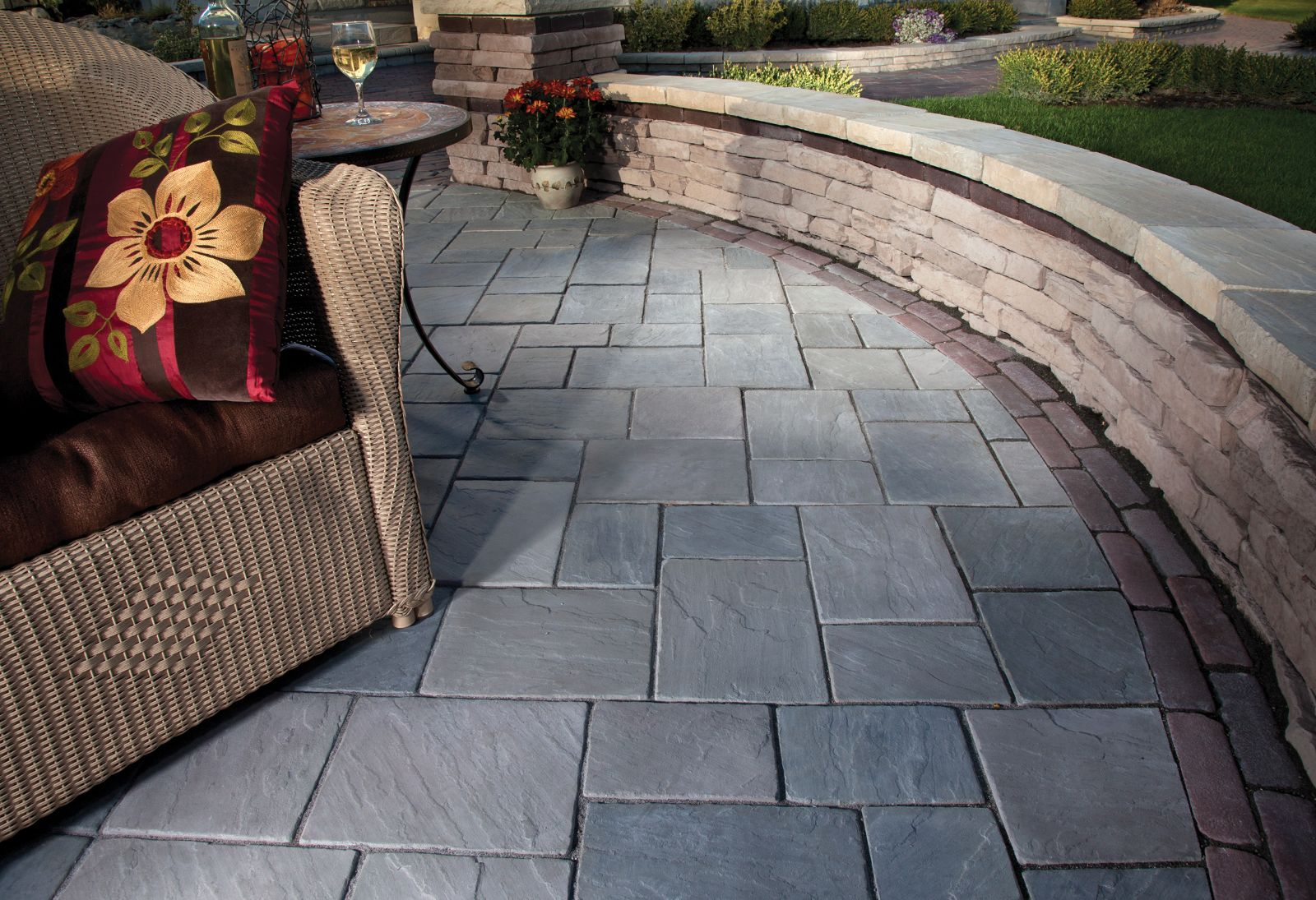 Unilock Patio Designs