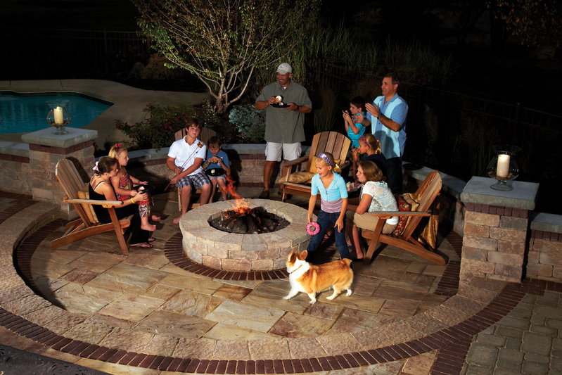 creating the perfect outdoor fire pit