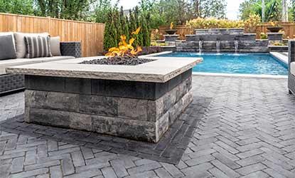 design ideas for pool decks unilock