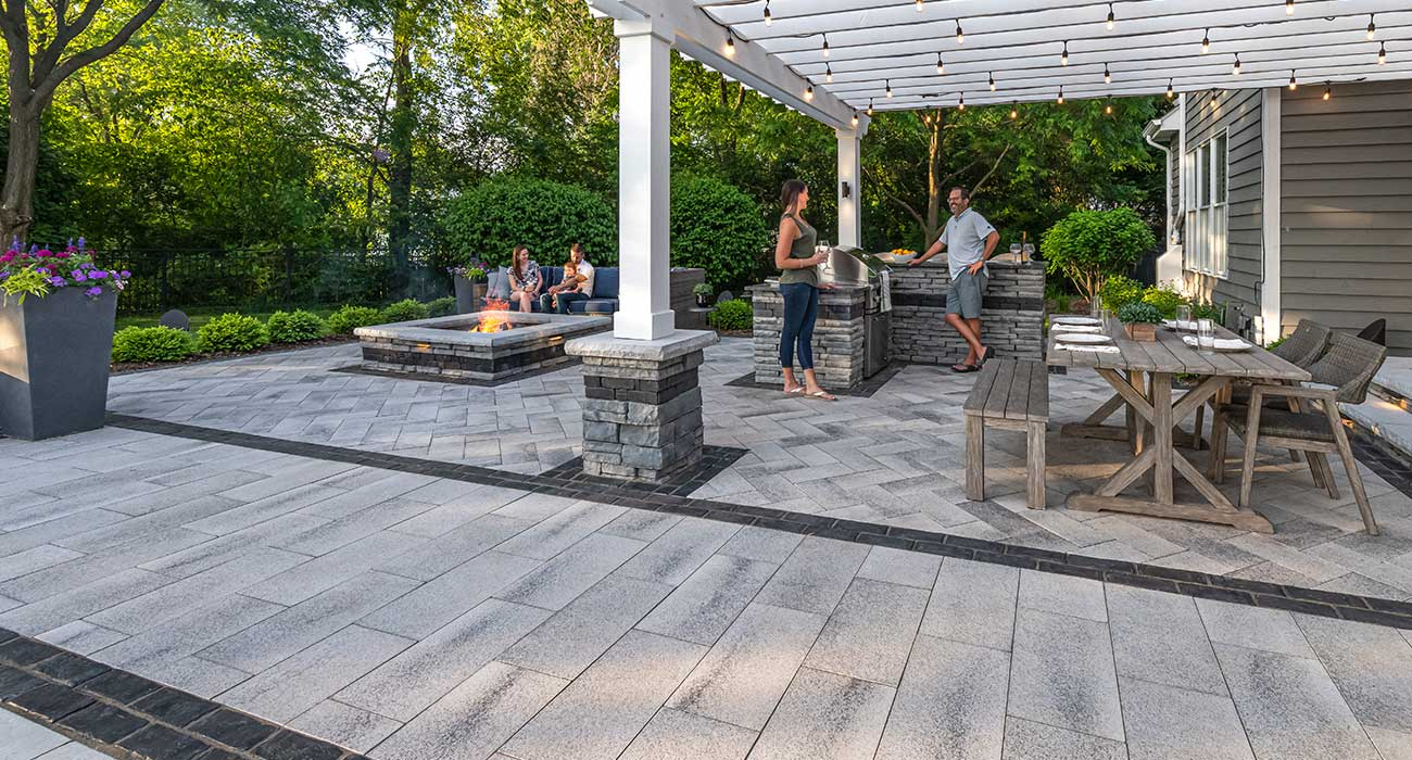 laying pattern for your paving project