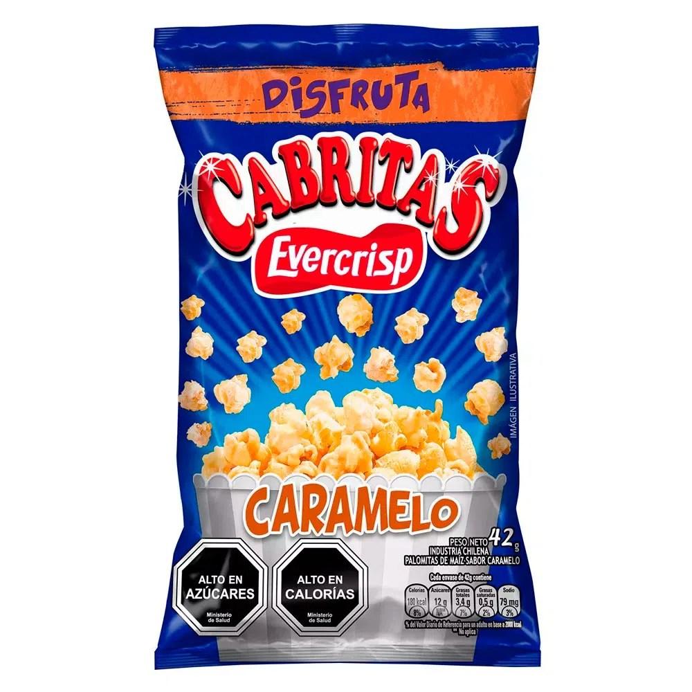 Cabritas Caramelo Evercrip, 42 g - telemercados