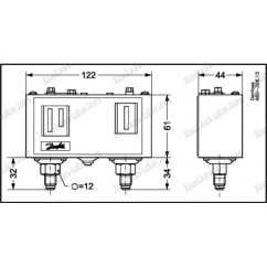 Danfoss Pressure Transmitter Mbs 3000 Wiring Diagram Chrysler 300c Diagrams Dual Switch Kp 15