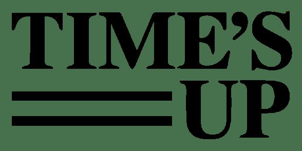 The #TimesUp logo