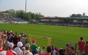 Alte Försterei during Oberliga times