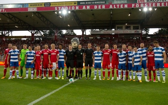 QPR and Union team shot