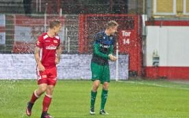 Polter splashing his former mates