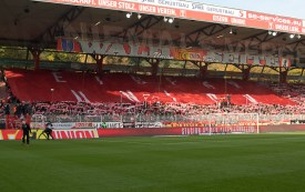 Fans before kick-off
