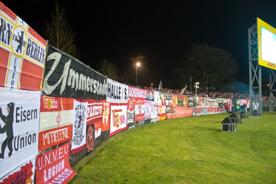 Full away curva in Kiel