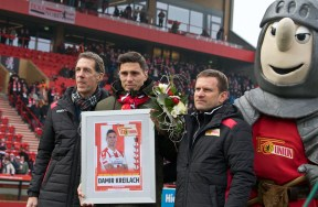 Damir Kreilach's emotional farewell