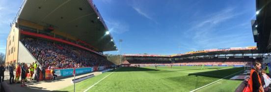 21,482 spectators today