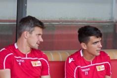 Parensen and Zejnullahu pre-match