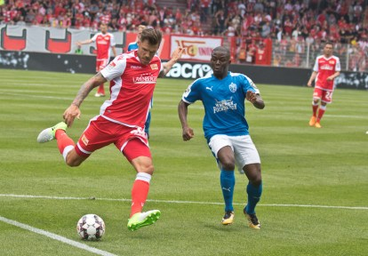 Trimmel played in the first half