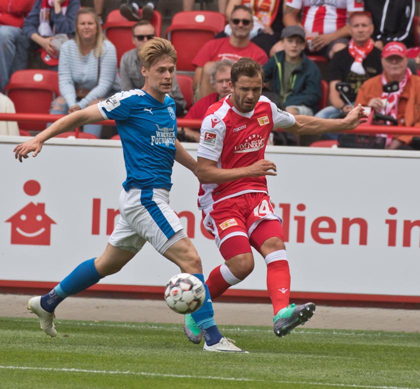 Ken Reichel played in the second half