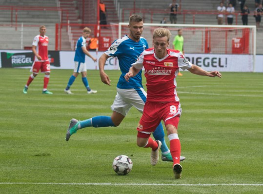 Joshua Mees played in the second half