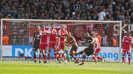 St. Pauli free kick