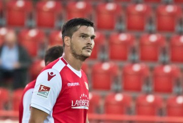 Back after his injury: Fabian Schönheim!