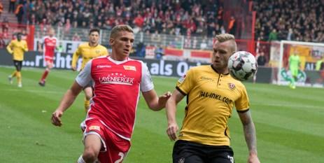 Prömel chasing the ball