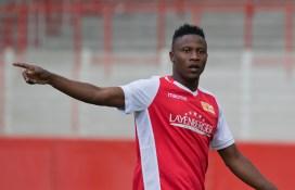 Suleiman Abdullahi back from injury