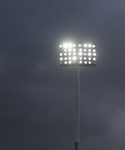 Floodlight with backlight