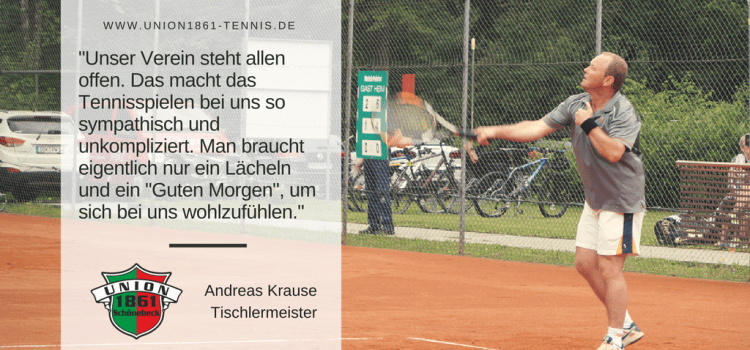 Sportlerportrait: Andreas Krause