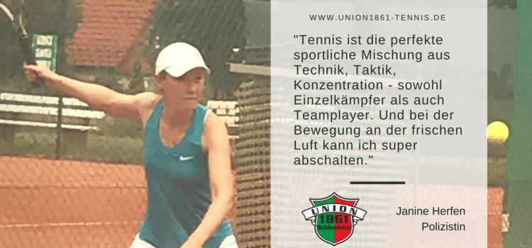 Sportlerportrait: Janine Herfen