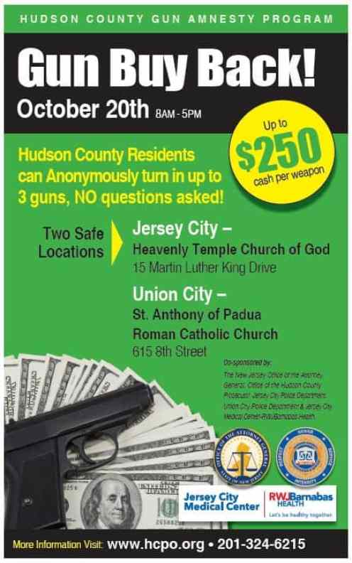 POSTER 2018 09 24 Gun Buy Back English JCMC