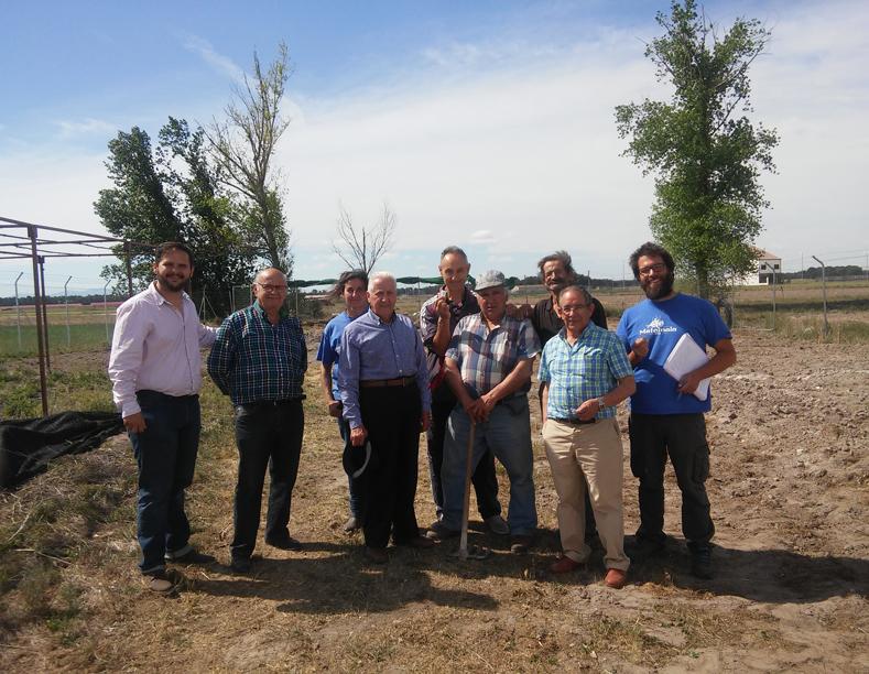 Los huertos de ocio de navalmanzano est n en marcha for Viveros en segovia