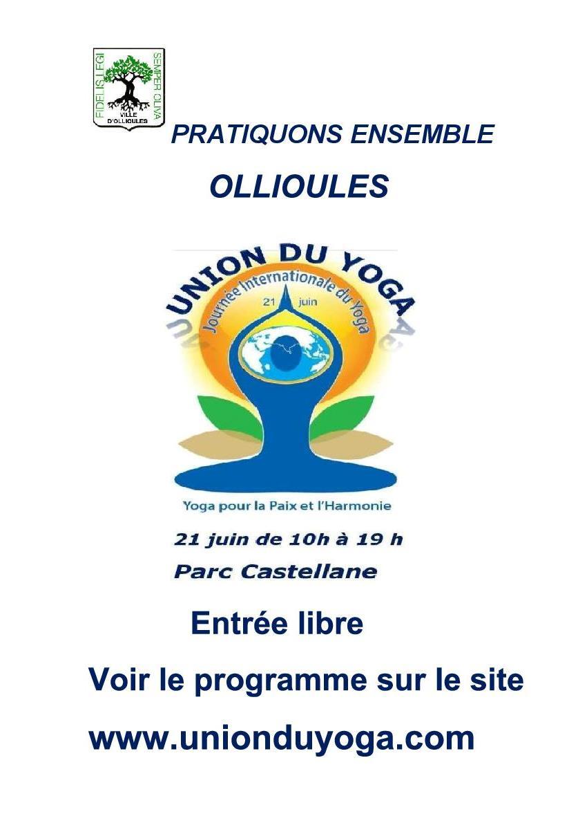 yoga ollioules 21 JUIN 2017