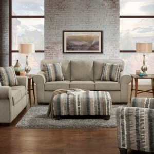 Union Furniture Livingroom 3400 Heather Grey