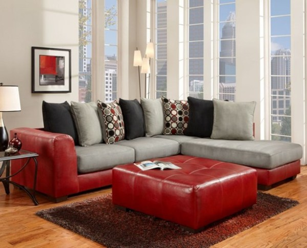 union furniture livingroom 6350 Sierra red