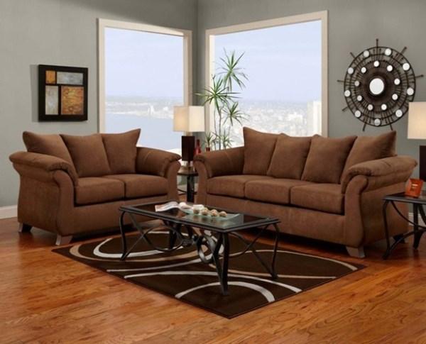 union furniture livingroom 6700 aruba chocolate
